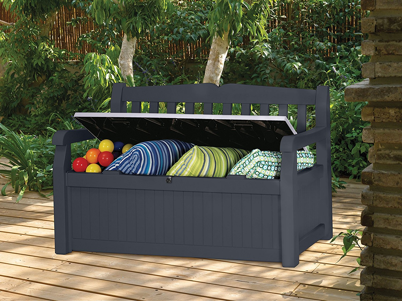 gartenbank mit stauraum 11 meine. Black Bedroom Furniture Sets. Home Design Ideas