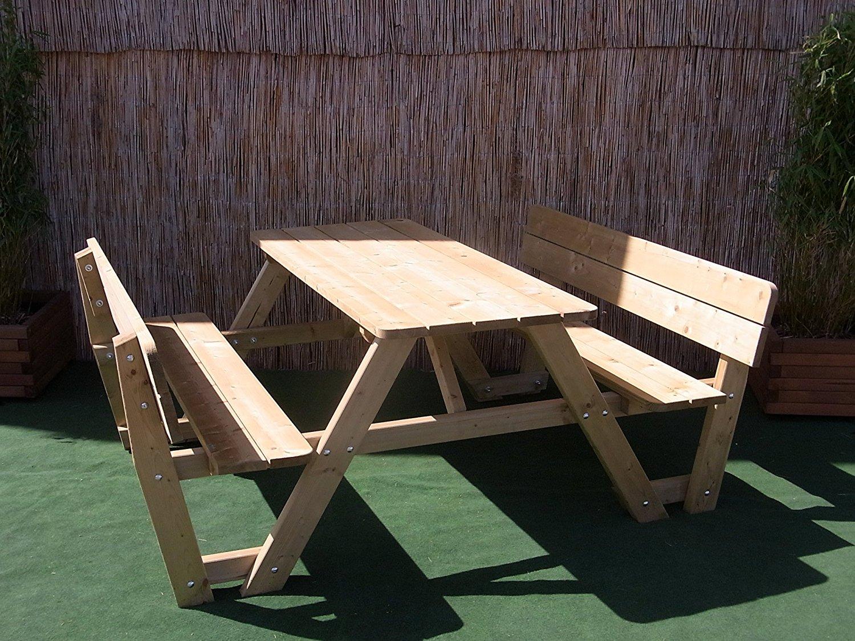 gartenbank mit tisch 4 meine. Black Bedroom Furniture Sets. Home Design Ideas