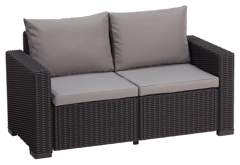 gartenbank rattan 3 meine. Black Bedroom Furniture Sets. Home Design Ideas