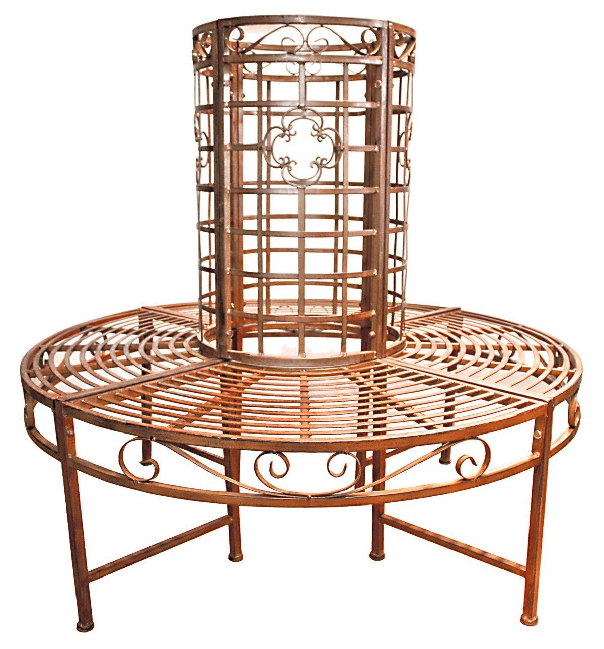 gartenbank rund 4 meine. Black Bedroom Furniture Sets. Home Design Ideas