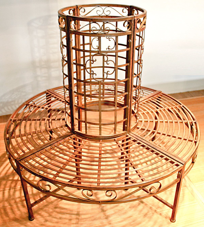 gartenbank rund 41 meine. Black Bedroom Furniture Sets. Home Design Ideas